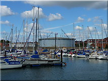SY6778 : Weymouth - Marina by Chris Talbot