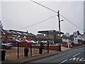 SJ6949 : Wybunbury Garage by Richard Dorrell