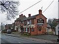 SJ6949 : The Red Lion, Wybunbury - closed by Richard Dorrell
