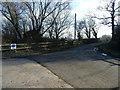 SJ4358 : Lea Lane at Lea Newbold by Colin Pyle