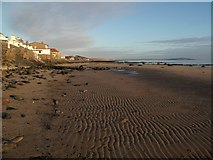 NO4102 : Beach at Lower Largo by Euan Nelson