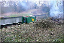 SU7451 : Clearance on the Basingstoke Canal by Graham Horn