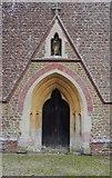 TQ0241 : The west door of Grafham church by Shazz