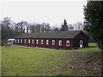 TQ0241 : Building attached to Woodyer House at Grafham by Shazz