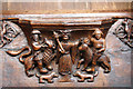 TA0339 : Medieval misericord scene by Richard Croft