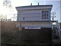 TQ2078 : Signal box, Bollo Lane Acton by David Howard