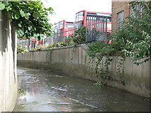 TQ3772 : The River Ravensbourne by Franthorne Way, SE6 (3) by Mike Quinn