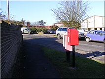 TM2850 : Dock Lane & River View Postbox by Adrian Cable