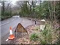 SW6437 : Milestone at Botetoe Bridge by Rod Allday