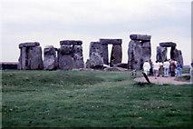 SU1242 : Stonehenge - 1986 by Helmut Zozmann