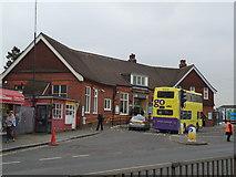 TQ2837 : Three Bridges railway station by Stacey Harris