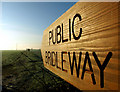 TA1634 : Bridleway to Bilton by Andy Beecroft