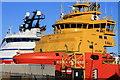 NJ9505 : Docked in Aberdeen by Colin Kinnear
