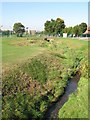 TQ3971 : The River Ravensbourne - Downham Branch, east of Glenbow Road, BR1 (3) by Mike Quinn