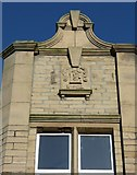 SE1734 : Datestone on shop, Otley Road, Undercliffe by Humphrey Bolton