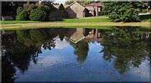 SO0660 : County Hall Grounds, Llandrindod Wells by Carol Bleasdale