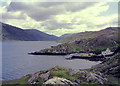 L7665 : Rosroe Quay in Killary Harbour, County Galway by Roger  Kidd