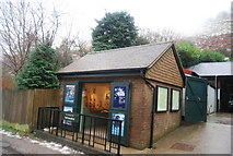 SO4494 : National Trust information Centre, Carding Mill Valley by N Chadwick