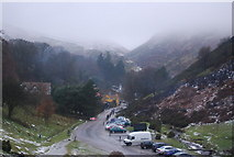 SO4494 : Carding Mill Valley in mist by N Chadwick