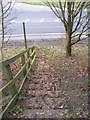 TM3865 : Footpath Steps to the A12 Saxmundham Bypass by Adrian Cable