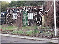 TL1569 : Shed, The Old Pied Horse, Grafham by Paul Shreeve