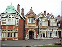 SP8633 : Bletchley Park - the mansion by Paul Shreeve
