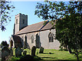 TG2532 : Antingham St Mary the Virgin's church by Adrian S Pye