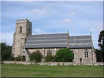 TG0135 : Gunthorpe St Mary's church by Adrian S Pye