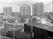 SP0198 : Across the rooftops, Walsall, Staffordshire by Roger  Kidd