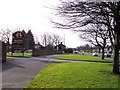SJ3994 : Entrance to The Derby Mills on Muirhead Avenue East by Raymond Knapman