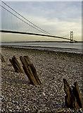 TA0225 : Hessle Foreshore and Humber Bridge by Paul Harrop