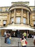 TQ2879 : Buckingham Palace rear entrance by Peter Neal