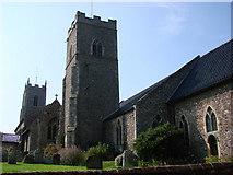 TG1022 : Reepham St Mary's church by Adrian S Pye