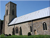 TG0336 : Sharrington All Saints' church by Adrian S Pye