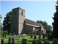 TG1115 : Weston Longville All Saints' church by Adrian S Pye