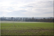 TQ8554 : View south from Pilgrims' Way by N Chadwick