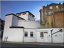 TQ2785 : Belsize Park deep shelter (south), Haverstock Hill / Downside Crescent, NW3 (2) by Mike Quinn