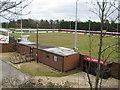 TL4462 : Impington: Histon FC Glass World Stadium by Nigel Cox