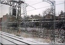 TQ2282 : West Coast Main Line west of Kensal Green Tunnels by N Chadwick