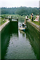 SP9126 : Leighton lock, Grand Union Canal, 1968 by Robin Webster