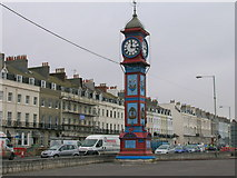 SY6879 : Clock tower, Weymouth by JThomas