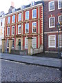 ST5872 : Subsidence in Queen Square by Virginia Knight