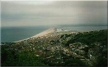 SY6774 : Chesil Beach by John MacKenzie