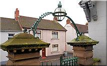 J4569 : Church gate, Comber (1) by Albert Bridge