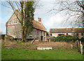 TG2439 : Church Farmhouse and barn conversion, Northrepps by Evelyn Simak
