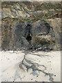 TG2639 : Fragile cliffs below Sidestrand by Evelyn Simak