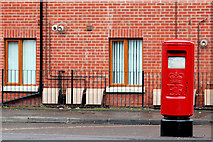 J3673 : Pillar box, Belfast by Albert Bridge