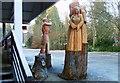 NH4858 : Wood Carver's Work by John MacKenzie