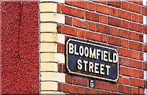 J3673 : Bloomfield Street, Belfast (2) by Albert Bridge