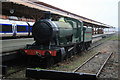 SP0786 : Birmingham Moor Street Station - preserved locomotive by Chris Allen